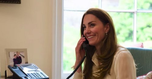 Kate Middleton calls cancer patient, 4, who was unable to see dad in lockdown