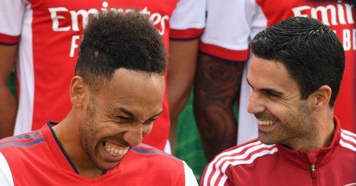 Mikel Arteta notes how Aubameyang has changed for Arsenal this season