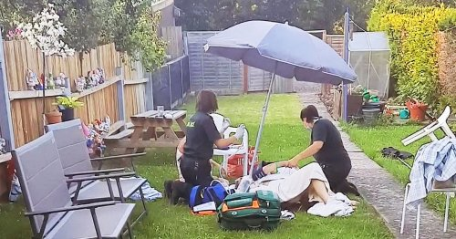 Gran baked in 31C heat for 12 hours waiting for ambulance after breaking her leg