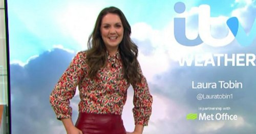 Flustered GMB star admits boss had to help her pull down pleather trousers