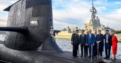 France rages at Britain, Australia and US over submarine deal 'stab in the back'