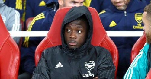 Nicolas Pepe explains why he dislikes facing Man Utd's Aaron Wan-Bissaka