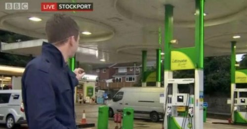 BBC Breakfast presenter goes viral with perfect name for petrol shortages report