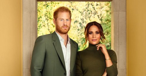 Harry 'like fish pulled out water' in photoshoot while Meghan 'leads'