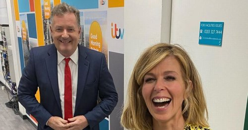 Piers Morgan says Kate Garraway's husband Derek is 'still effectively in a coma'