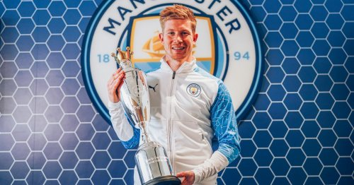 De Bruyne equals Ronaldo and Henry with PFA Player of the Year double