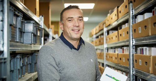 Man who set up second-hand CD business in garage is about to make £30million
