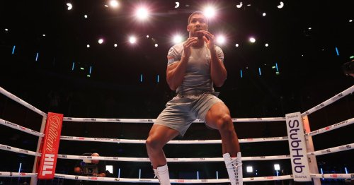 Anthony Joshua shows off lean physique in workout ahead of Oleksandr Usyk clash