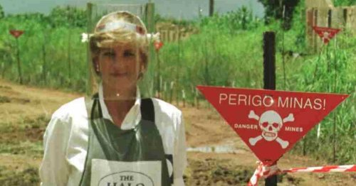 Diana died after 'delaying UK return from Paris due to Tory land mines fury'