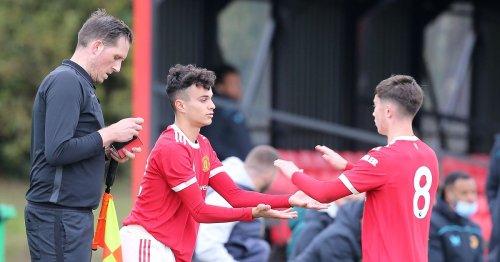 Ryan Giggs' son makes Man Utd debut with Ole Gunnar Solskjaer watching on