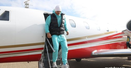 Oleksandr Usyk's very simple message to Anthony Joshua after landing in London