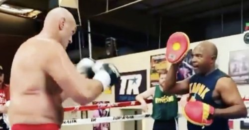 """Tyson Fury's sparring partner sends """"different animal"""" warning to Anthony Joshua"""