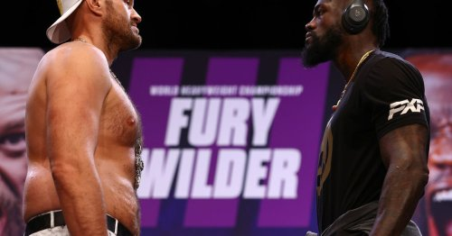"""Tyson Fury's brutal """"retirement"""" message to Deontay Wilder ahead of trilogy"""