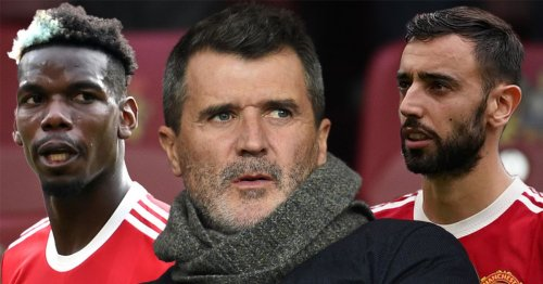 Keane has same problem with Fernandes after Pogba leaves him red-faced