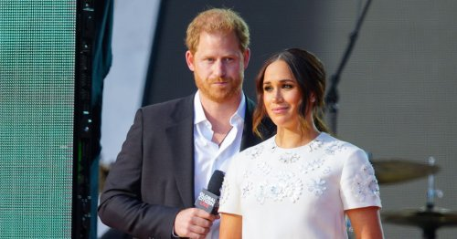 Meghan's sweet nod to Princess Diana as she wows in £3k mini dress in New York