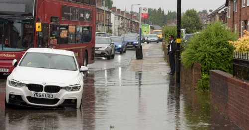 Extreme floods hit overnight leaving parts of UK waking up with homes underwater