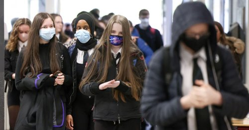 Pupils 'will be forced to wear masks in school communal areas' amid Covid surge