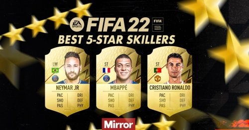 Every player on FIFA 22 with five-star skills including Liverpool, Man Utd stars