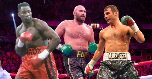 Tyson Fury and Joe Calzaghe lead the way in Best of Britain and Ireland vote