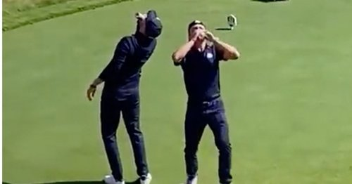 Ryder Cup stars Justin Thomas and Daniel Berger slammed after downing beers