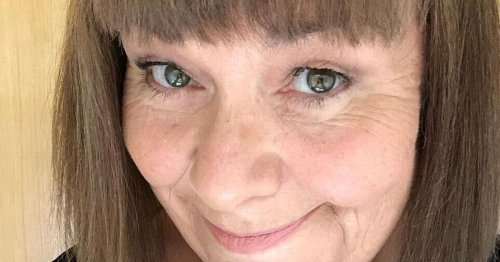 Dawn French embraces grey hair as she unveils shaved transformation