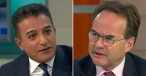 Adil Ray fuming as GMB guest is 'fed up' of helping 'poor and vulnerable'