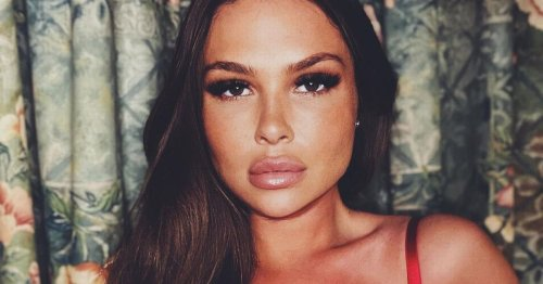 TOWIE star Fran Parman sizzles in racy lingerie snap after losing two stone