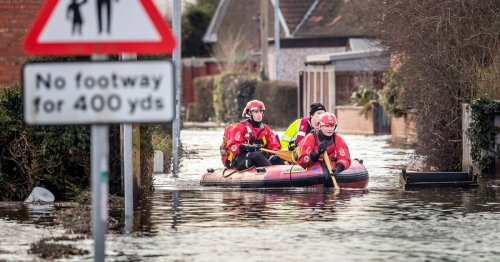 Fatal flood warning for UK as two months' worth of rain could fall in 24 hours