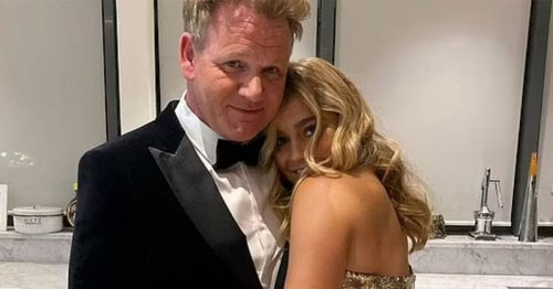 Gordon Ramsay supports Tilly ahead of Strictly after Steve Allen's comment