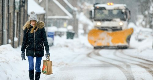 Snow to hit 'next week' as much of Britain is battered by heavy rain and gales