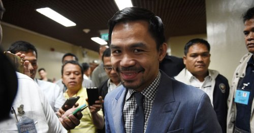 Manny Pacquiao confirms he will run for president of Philippines next year