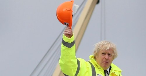 Boris Johnson admits defeat over mocked plan for tunnel to Northern Ireland