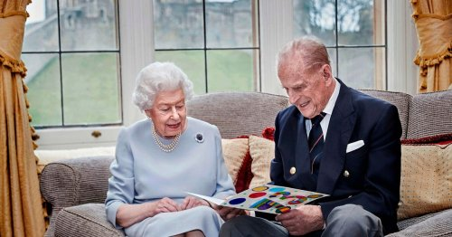 Last official picture of Prince Philip and smiling Queen as Duke dies aged 99