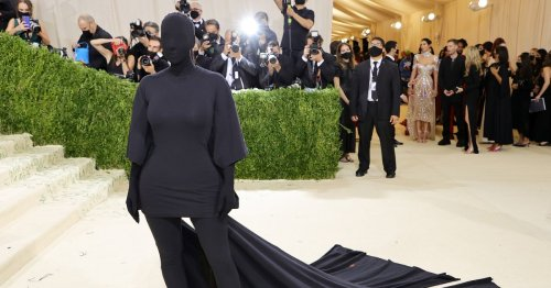 Kim Kardashian's bizarre Met Gala outfit has been made into Halloween costume