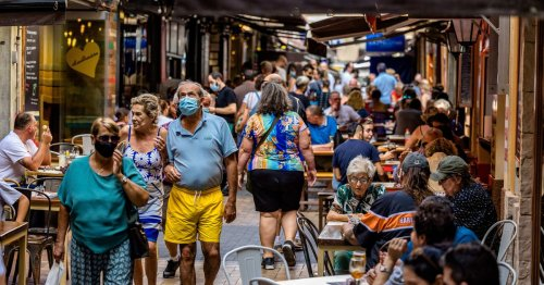 British holidaymakers being blamed for spike in Covid cases in Benidorm