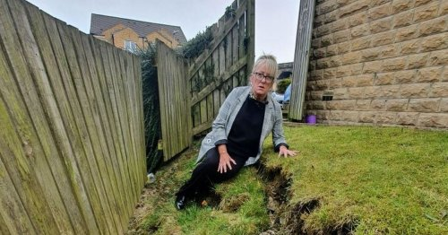 Couple who bought first home told to pay £88k to stop garden falling into stream
