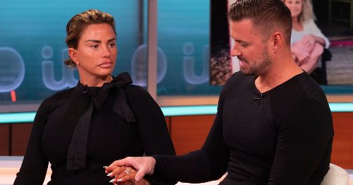 Katie Price's fiance's mocking laugh hints at doubts, says body language expert