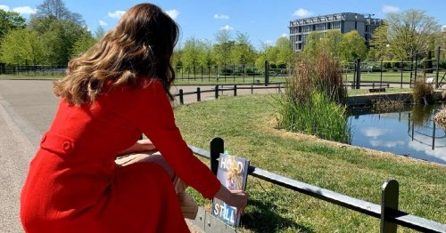 Kate Middleton leaves copies of her new book with hidden letters across UK