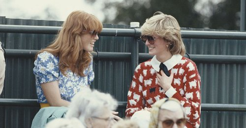 Princess Diana stopped talking to Sarah Ferguson just months before her death