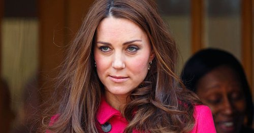 Rare moment Kate lost her cool and rolled eyes when 'told off' at royal event