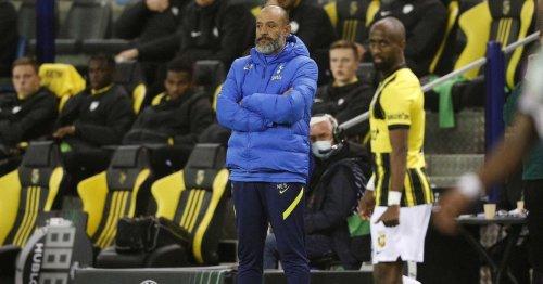 Three things Nuno got wrong and one he got right as Tottenham beaten by Vitesse
