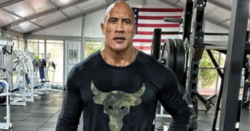 Dwayne Johnson unveils his terrifyingly muscly legs as he hits the gym
