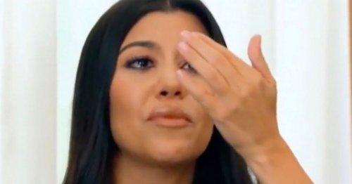 Kourtney Kardashian fans 'heartbroken' over clip of her in tears over ex Scott