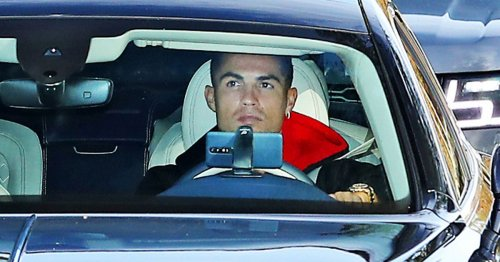 Ronaldo drives new £164k car to Man Utd training after Carabao Cup exit