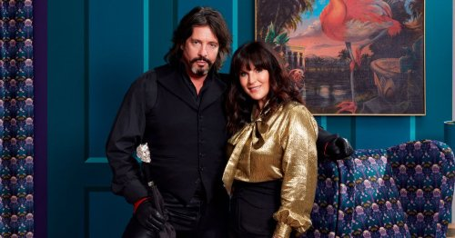Anna Richardson bans Laurence Llewelyn-Bowen from her home after he slams decor