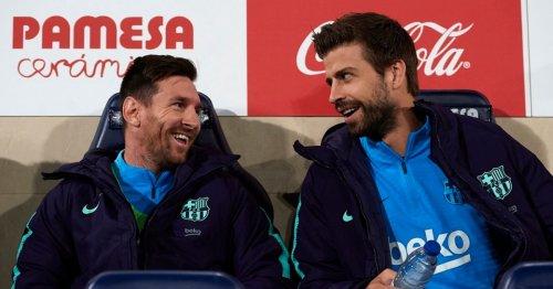 Gerard Pique's surprise admission over Lionel Messi's Barcelona exit