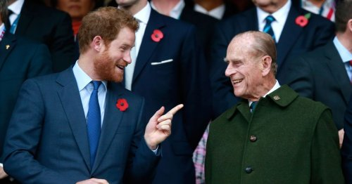 Prince Harry shares grandfather Philip's blunt advice as he went to Afghanistan