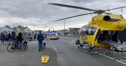 'Serious incident' at holiday park as police and air ambulance called to scene