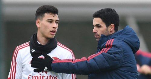 Arteta tells Arsenal fans he won't make Martinelli U-turn anytime soon