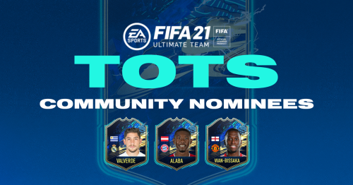 FIFA 21 Community TOTS (Team of the Season) nominees confirmed as voting opens